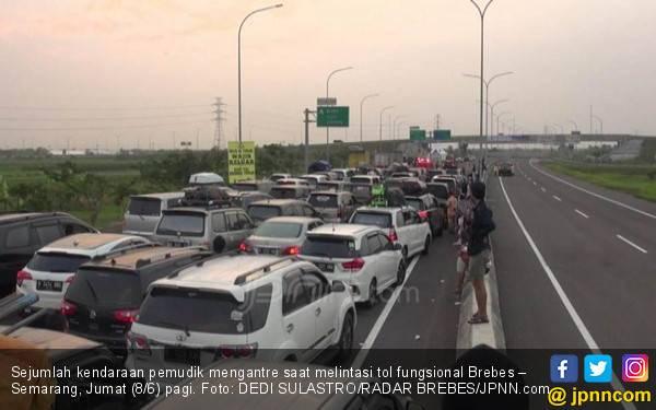 Mulai Hari Ini Tol Brebes – Semarang Ditutup - JPNN.com