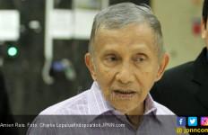 Penuhi Panggilan Polisi, Amien Rais Bawa Buku 'Jokowi People Power' - JPNN.com