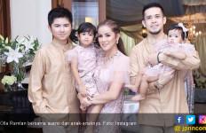 Olla Ramlan Kenang Lebaran Bersama Mendiang Ayahnya - JPNN.com