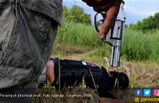 Dua Butir Peluru Tembus Dada, Buronan Kasus Perampokan Akhirnya Tewas - JPNN.com