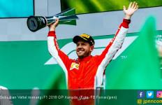 Rebut F1 GP Kanada, Vettel Genapi Kemenangan ke-50 - JPNN.com