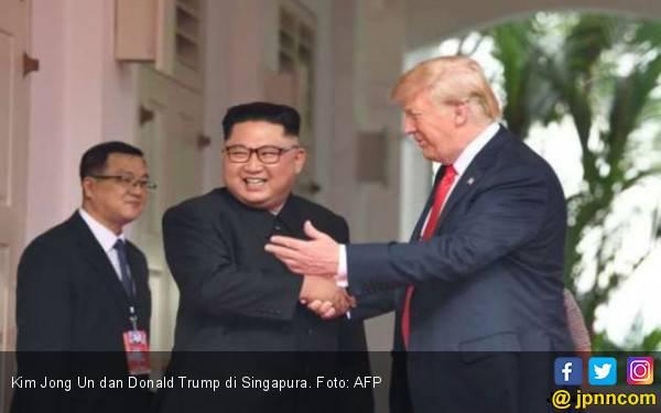 Trump dan Kim Jong Un Kembali Bertemu Akhir Februari - JPNN.com
