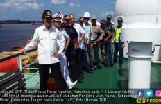 H-1 Lebaran, Hamdhani Tinjau Pelabuhan Panglima Utar - JPNN.com