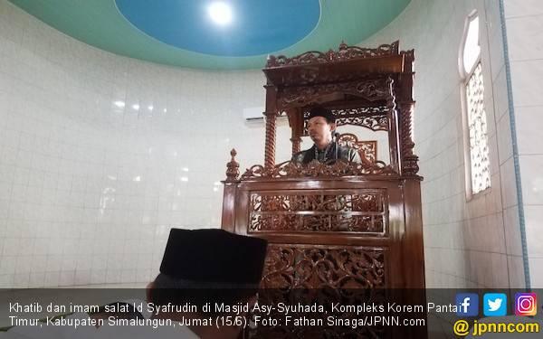 Khatib Syafrudin Berpesan Jangan Melupakan Jalur Gaza - JPNN.com