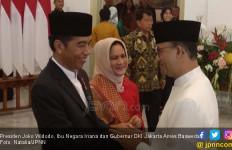 Anies - Sandi Mesra Saat Bertemu Jokowi - JPNN.com