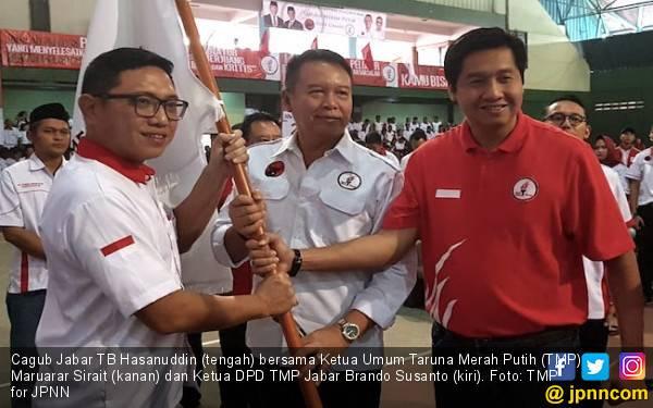 Demi Menangkan Jokowi di Jabar, TMP Bergerak Door to Door Garap Milenial - JPNN.com