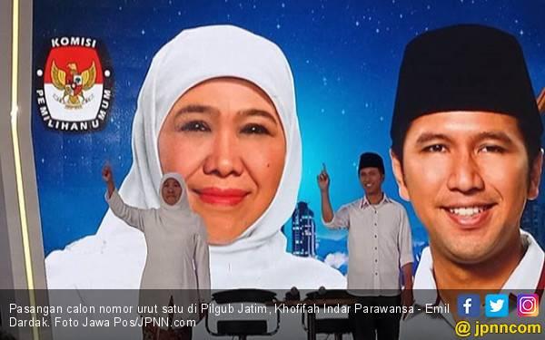 Quick Count Pilgub Jatim: Sementara, Mengejutkan! Telak! - JPNN.com