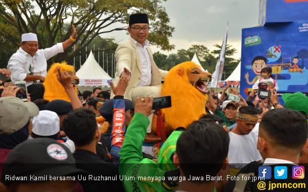 Jokowi KW Hadir di Kampanye Akbar Pasangan Rindu - JPNN.com