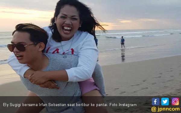 Digendong Irfan, Mpok Ely: Dikomen Anak Sama Neneknya - JPNN.com