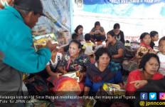 Kepedulian Tigaras Buat Keluarga Korban KM Sinar Bangun - JPNN.com