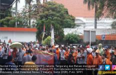 Serikat Pekerja Pos Indonesia Tuntut Pemenuhan Hak Pekerja - JPNN.com
