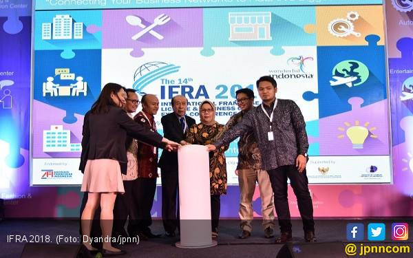 IFRA 2018 Ingin Genjot Pebisnis Waralaba Terus Berinovasi - JPNN.com