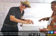 Menteri Yasonna Mudik demi Mencoblos Jagonya di Pilgub Sumut - JPNN.com