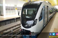 Rusak, Lampu PJU di Sepanjang Jalur LRT Sumsel Sudah Kembali Normal - JPNN.com