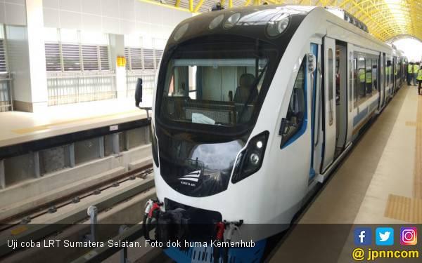 Kemenhub Lakukan Evaluasi Berkala LRT Sumsel - JPNN.com