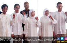 Pilgub Jatim: Khofifah tak Terbendung di TPS Sendiri - JPNN.com