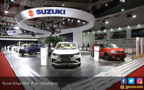 Suzuki Ertiga Terbaru Laris di GIIAS 2018 - JPNN.com