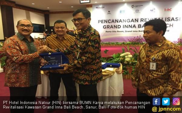 HIN dan 4 BUMN Karya Garap Kawasan Grand Inna Bali Beach - JPNN.com