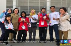 Anak-anak Dinsos DKI Sukses Rebut 5 Medali di Paragames 2018 - JPNN.com