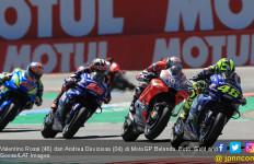 Gagal Podium di MotoGP Belanda, Rossi Salahkan Dovizioso - JPNN.com