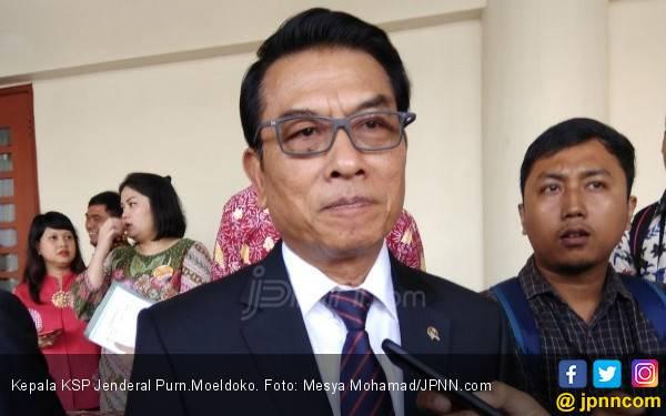 Moeldoko Curiga Emak-Emak Pepes Diperintah Menyebar Fitnah - JPNN.com