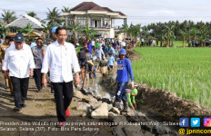 Pak Jokowi Tinjau Proyek Irigasi Senilai Rp 225 Juta di Wajo - JPNN.com