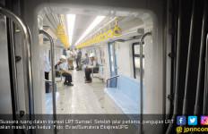 Penumpang LRT Sumsel Masih Rendah, ini Kata Menhub - JPNN.com