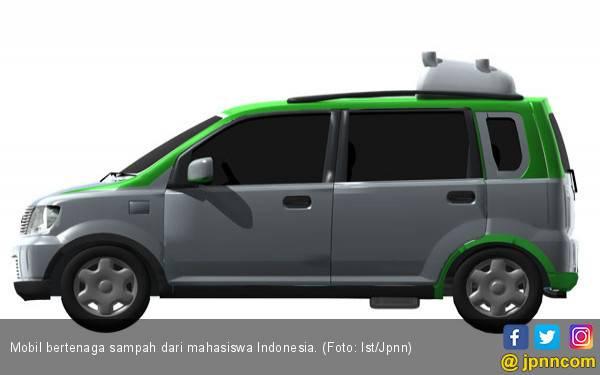 Mobil Bertenaga Sampah dari Mahasiswa Indonesia Mendunia - JPNN.com