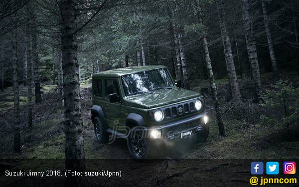 Suzuki Jimny Masuk Finalis di 2 Kategori World Car of The Year 2019 - JPNN.com