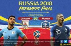 Piala Dunia 2018: Prediksi Uruguay vs Prancis - JPNN.com