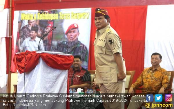 Tak Menutup Kemungkinan Prabowo Usung Nama Lain jadi Capres - JPNN.com