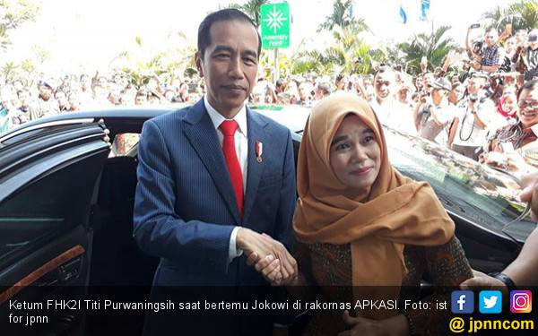 Terkait Silatnas Honorer K2, Titi: Pak Jokowi itu Tidak Terduga Orangnya - JPNN.com
