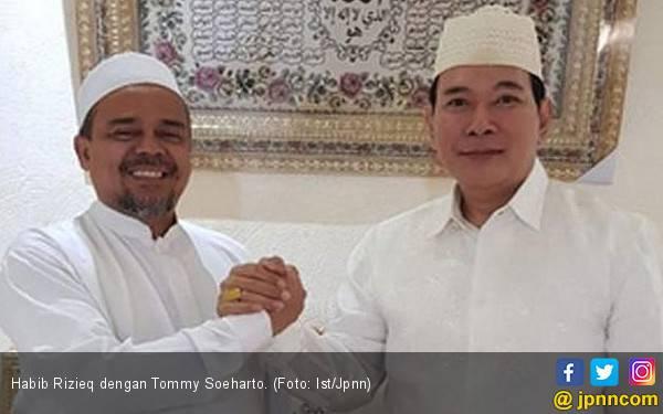 Habib Rizieq Doakan Partai yang Dipimpin Tommy Soeharto Lolos ke Senayan - JPNN.com