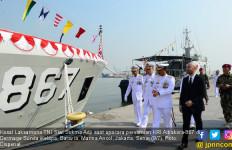 KRI Albakora Resmi Memperkuat Armada Kapal Perang TNI AL - JPNN.com