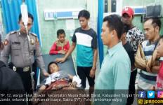 Aksi Heroik Sang Ibu Selamatkan Putranya dari Terkaman Buaya - JPNN.com