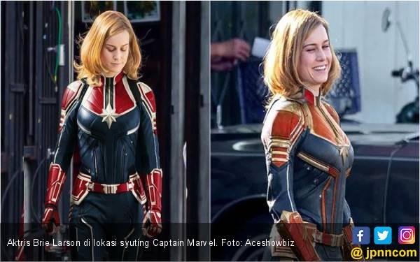 Brie Larson: Captain Marvel Membuatku Berbeda - JPNN.com