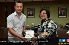 Bertemu Menteri Siti, Nicholas Saputra Bicara soal Gajah - JPNN.com