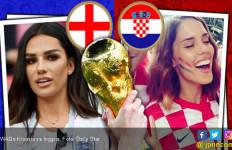 Kroasia vs Inggris: Foto-Foto Panas Istri dan Pacar - JPNN.com