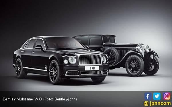 Sentuhan Pendiri Bentley Hadir di Mulsanne Edisi Terbatas - JPNN.com