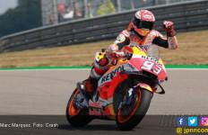 9 Kemenangan Marc Marquez dan 4 Korban di MotoGP Jerman - JPNN.com