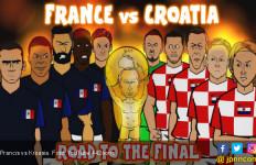 Bursa Taruhan Prancis vs Kroasia - JPNN.com