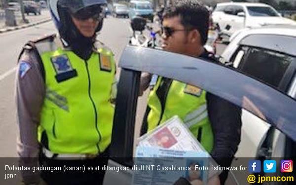 Polda Setop Kasus Pungli Polisi Gadungan di JLNT Casablanca - JPNN.com