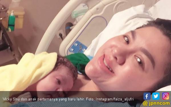 Punya Bayi, Vicky Shu Dipingit Selama 40 Hari - JPNN.com