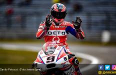 Gagal Raih Podium MotoGP Jerman, Petrucci Kesal ke Lorenzo - JPNN.com