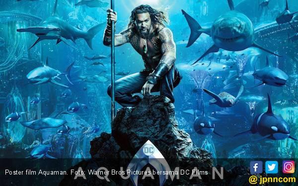 Baru Rilis di Tiongkok, Aquaman Sudah Tembus Rp 1 Triliun - JPNN.com