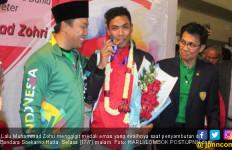 Lalu Muhammad Zohri Menangis saat Ditanya tentang Rumah - JPNN.com