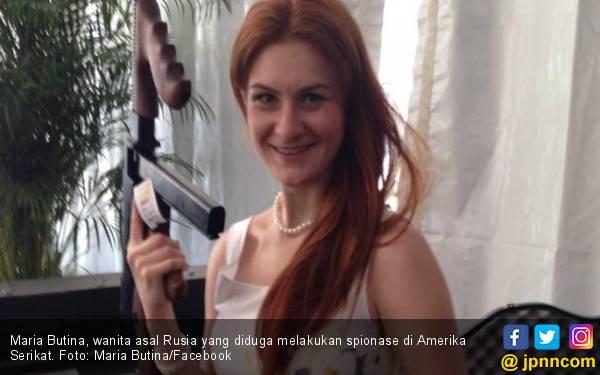 Maria Butina, Mata-Mata Cantik di Tengah Skandal Pemilu AS - JPNN.com