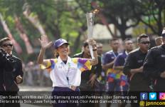 Dian Sastro Bangga Sebagai Pembawa Obor Asian Games 2018 - JPNN.com