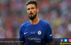 Olivier Giroud Lambaikan Tangan ke Fan Chelsea - JPNN.com