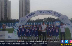 Tekuk Asahan, Asiop Apacinti Juara Aqua DNC 2018 - JPNN.com